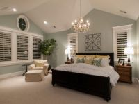 Smart vaulted bedroom ceiling lighting ideas with classy ...