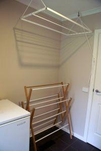 19 Laundry Room Clothes Hanger Racks Design Ideas