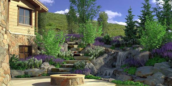 natural landscaping design