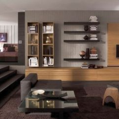 How To Decorate Living Room Wall Shelves Contemporary Lamps For The 19 Great Designs Of Shelving Unit Gallery Units