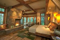 20 Simple and Neat Cabin Bedroom Decorating Ideas