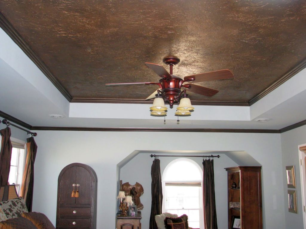 Fall In Love Leaf Wallpaper 19 Stunning Drop Ceiling Decorating Ideas