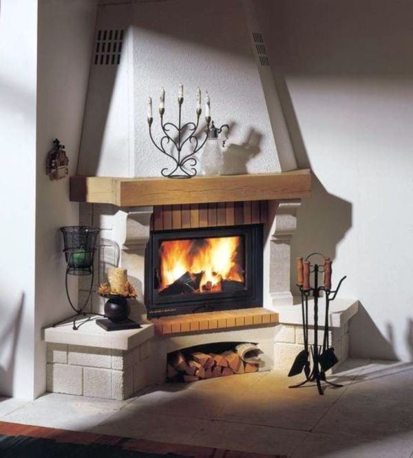 Trending Scandinavian Fireplace Design Ideas