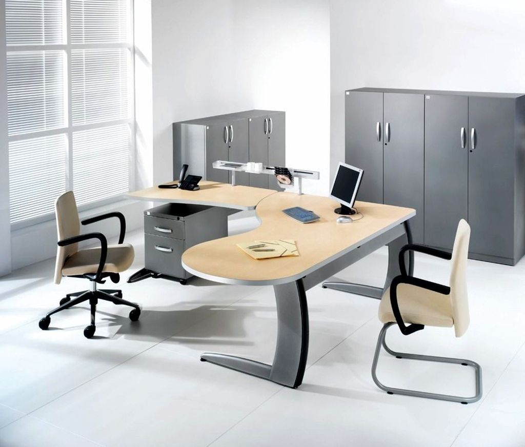 contemporary desk chairs wrought iron barrel chair outdoor cushions l shaped minimalist office furniture