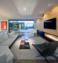contemporary long living room ideas