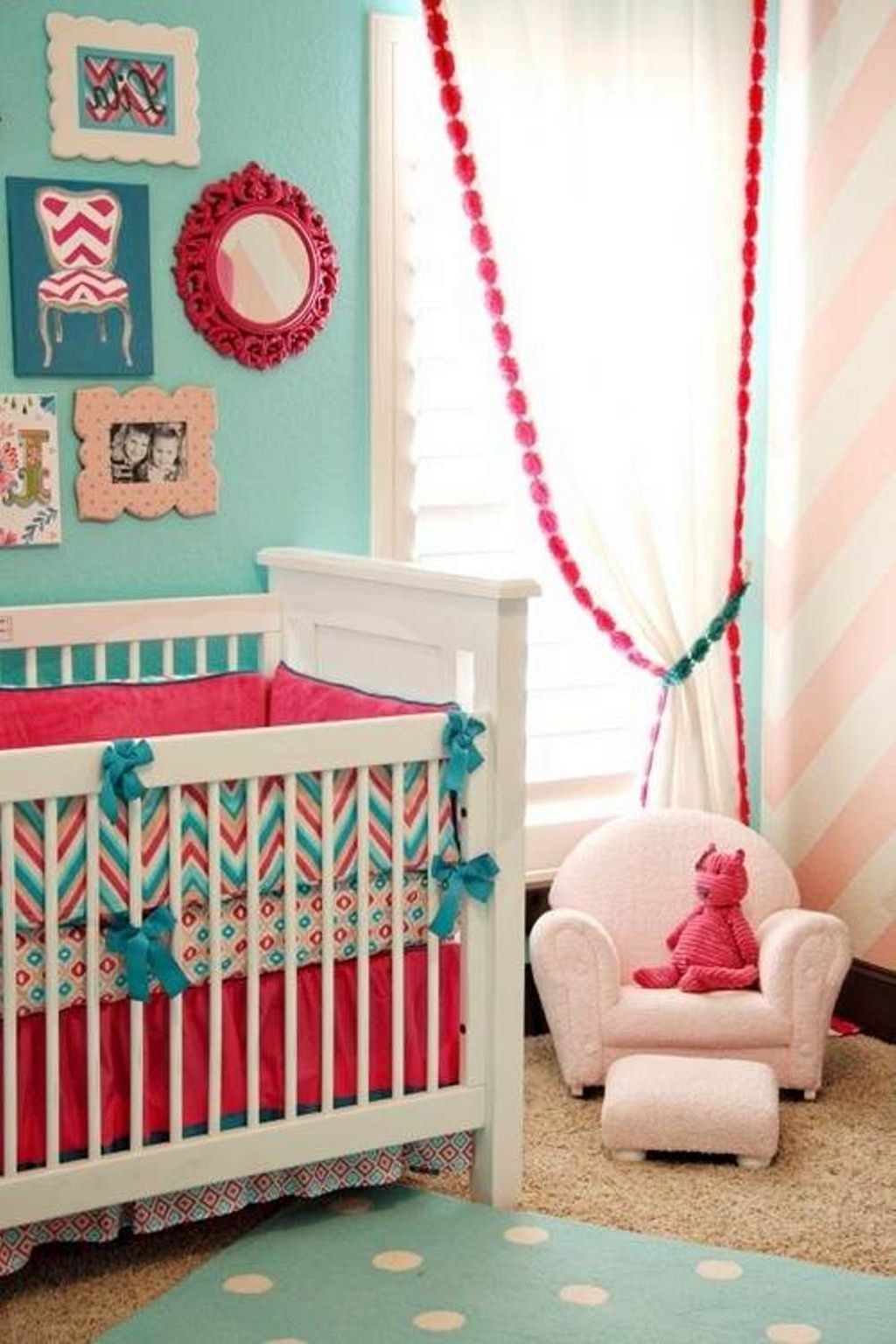 Baby Girl Nursery Bedroom Ideas
