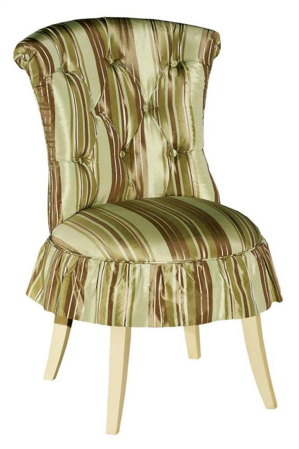 bedroom chair with skirt folding outdoor chairs canada cute hickory vanity