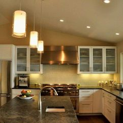 Mini Pendant Lights For Kitchen Island Las Vegas Hotel With Cylindrical Over