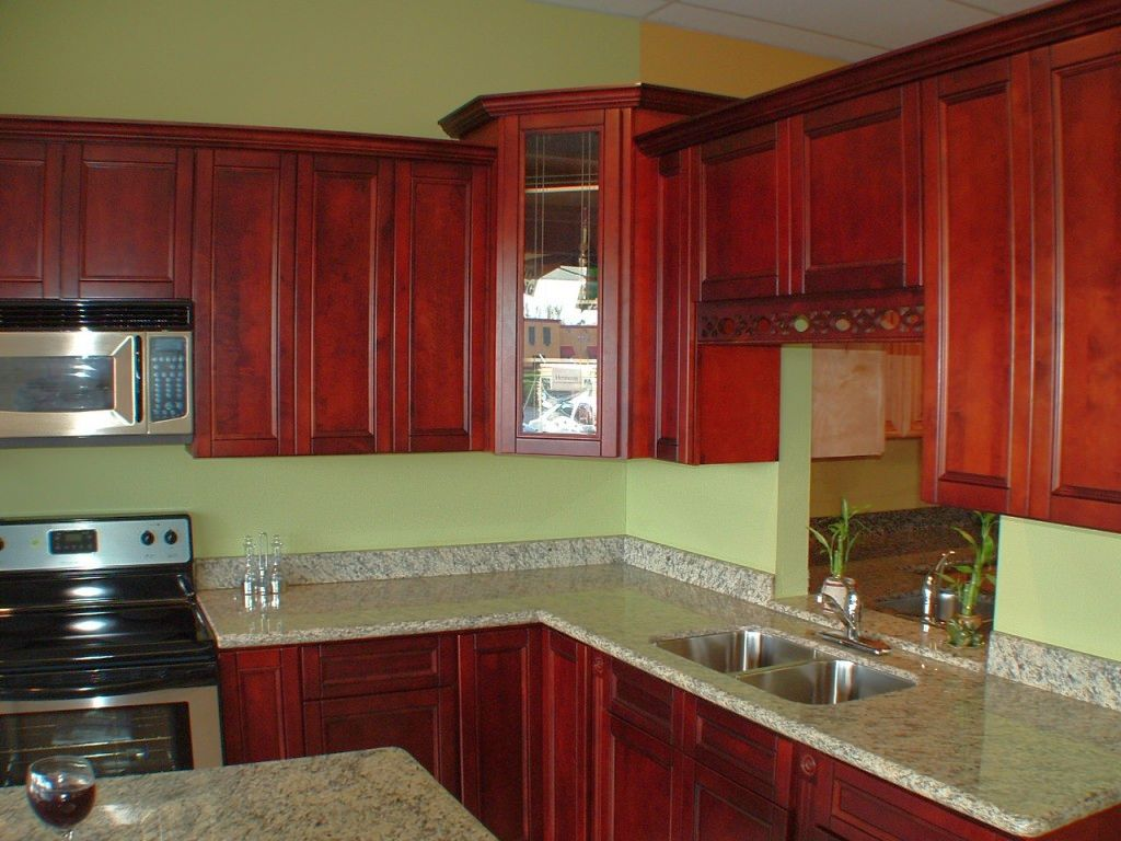 red kitchen light shades build a green wall and cabinets popular paint colors for
