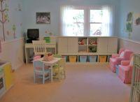 kids playroom design ideas in pastel colors