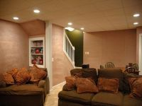 lighting ideas for basement as family room