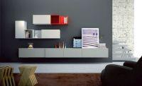 minimalistic wall shelving units for living room