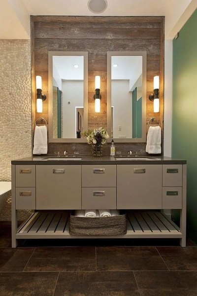 master bathroom vanity lighting ideas natural themed master bathroom lighting ideas