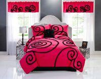 20 Amazing Pink and Black Bedroom Decor