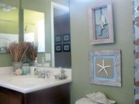 tiny bathroom design ideas in beach theme