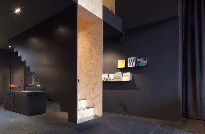 Bazar Noir floating stairs