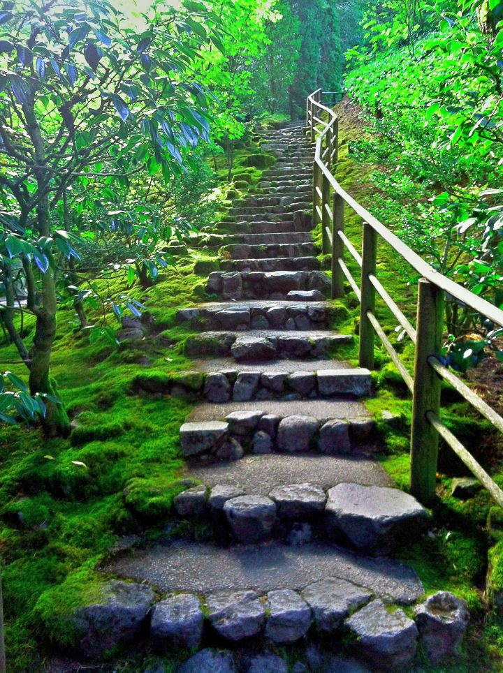 17 Amazing Garden Stairs Designs That Take You to Ultimate ...