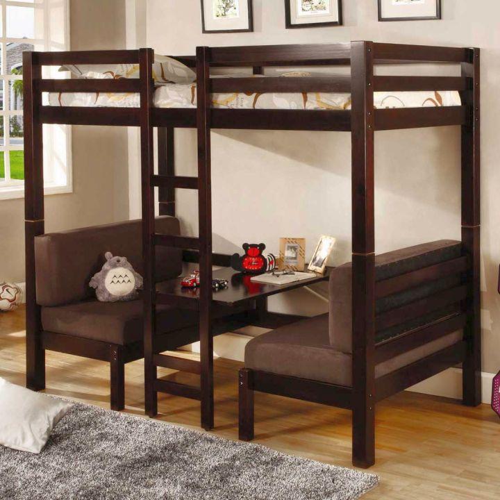 17 Smart Bunk Bed Designs for Adults Master Bedroom