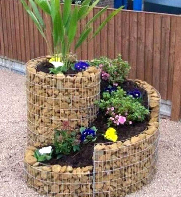 simple small rock garden design
