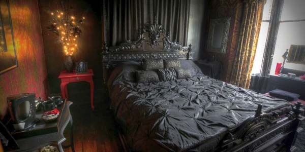 kitchen tables austin cabinets charlotte nc 18 classy gothic bedroom ideas that scare the pants off you