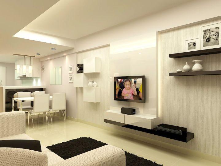 small black sofa table barrington premium italian leather and recliner set 17 modern minimalist living room ideas