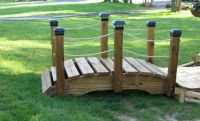 17 Awesomely Neat DIY Garden Bridge Ideas