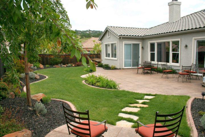 simple and easy rock garden