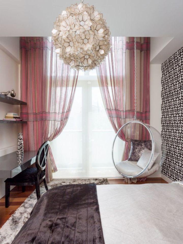 18 Catchy Bedroom Swings Ideas