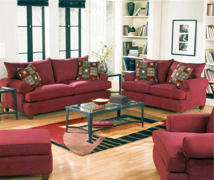 burgundy and brown living room pottery barn colors 18 maroon furniture interior design ideas cozy