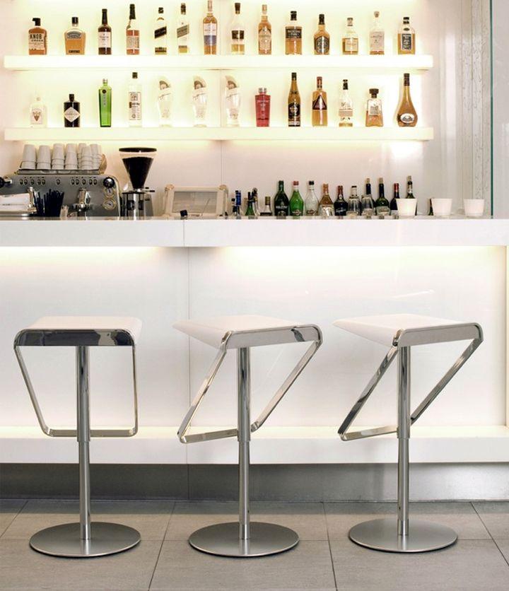 Modern Home Bar Design Ideas: 17 Sleek Modern Home Bar Counter Designs