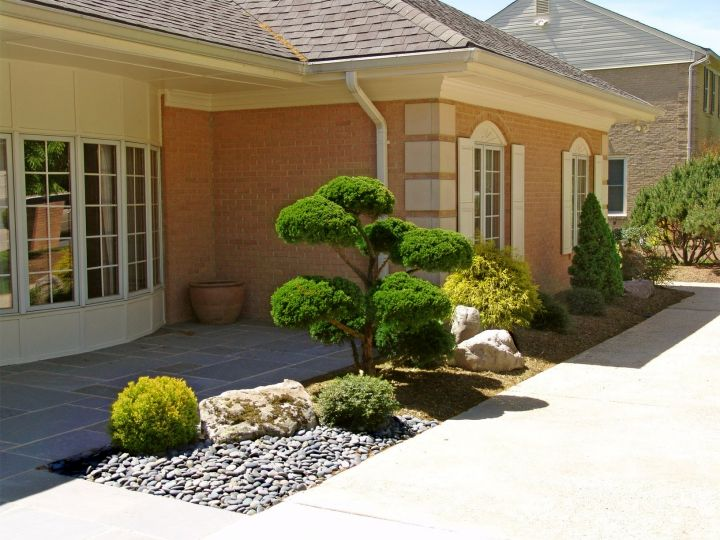 equable oriental garden design