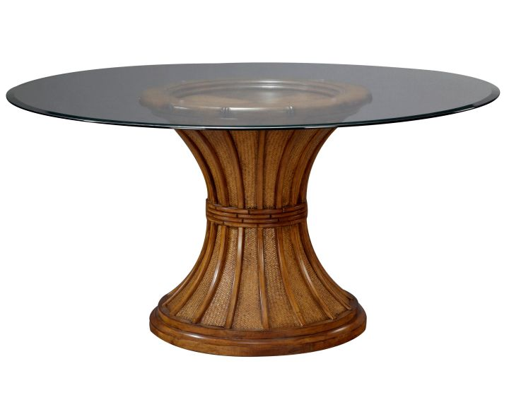 pedestal table base ideas wood and glass top d07f32