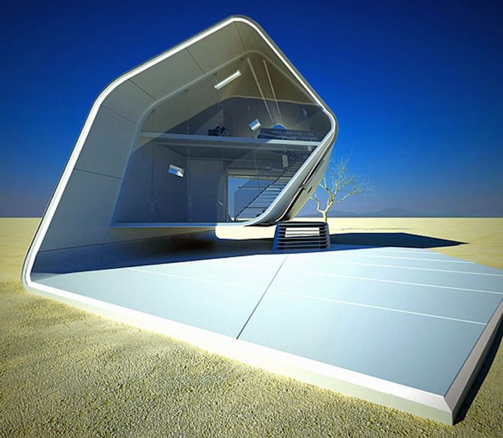 Futuristic House Designs