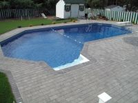 20 Lazy L Pool Designs in Backyard Decoration Ideas