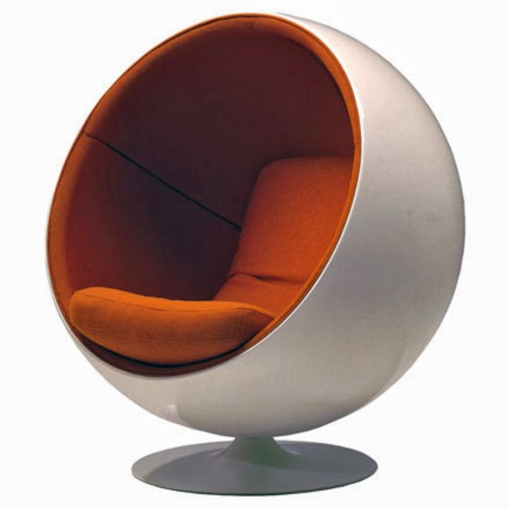 Cozy Round Reading Chairs for Home Reading Room