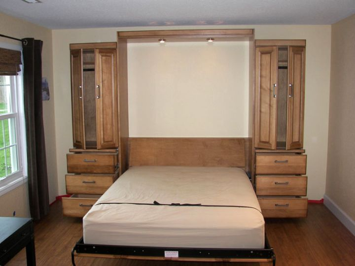 murphy bed in small living room remodeling on a budget simple couch ideas suited for interior
