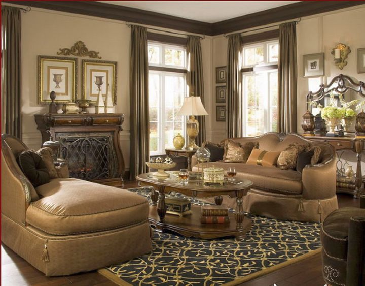 living room designs with dark brown sofa christmas decorating ideas for table stunning tuscan color