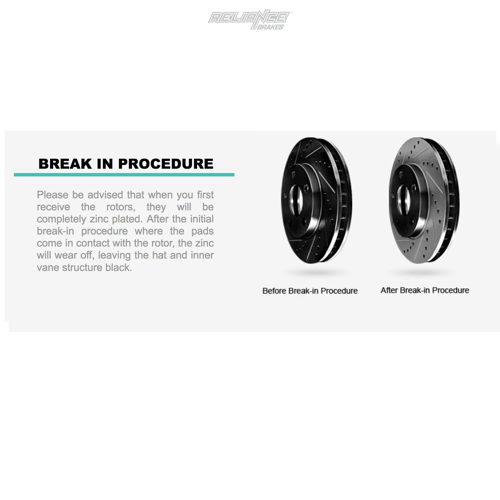 Front Black Cross-Drilled Slotted Brake Rotors Disc and