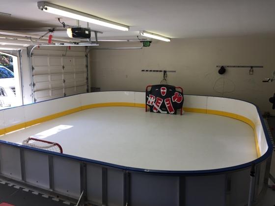 Synthetic Ice Hockey Home Rink Of Anton Stralman NHL