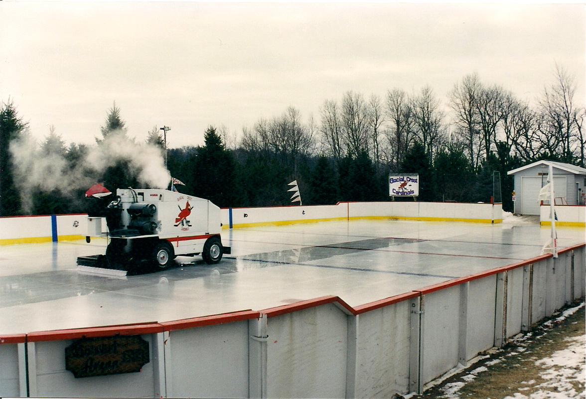 backyard hockey rink kit high quality design