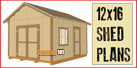 Storage Shed Plans And Material List Listitdallas