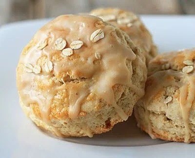 Maple Oatmeal Scones | My Baking Addiction