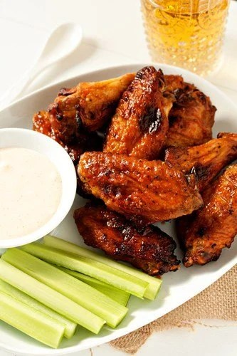 Post image for Sweet and Spicy Baked Chicken Wings