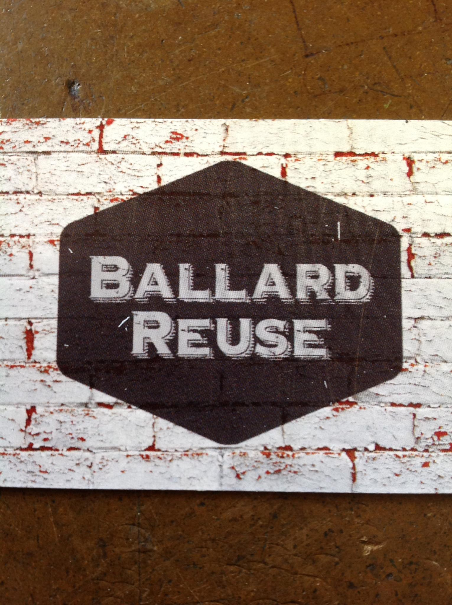 my ballard ballard reuse 3rd anniversary sale on saturday ballard reuse is about to celebrate its 3rd anniversary and to celebrate they re selling everything for 20 percent off the anniversary party is from 11