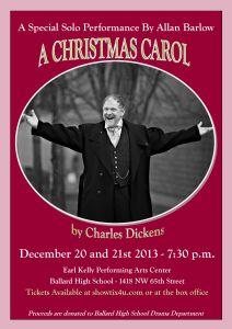 Christmas Carol Poster Revised