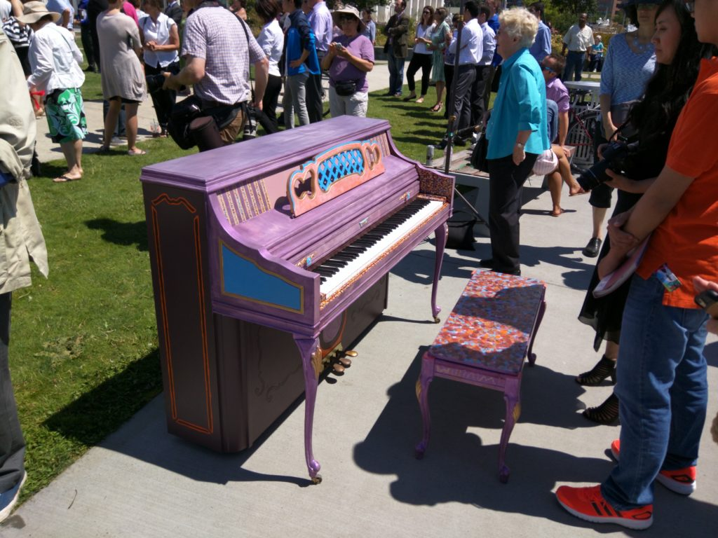 pianos in the parks starts in august
