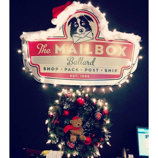 My Ballard 187 The Mailbox Ballard Posts Holiday Shipping