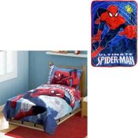 4pc Spiderman Toddler Bedding Set : $24.99 ...