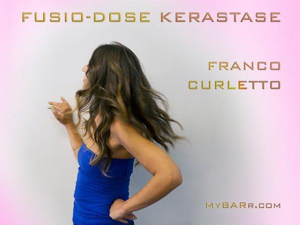 salone-Franco-Curletto-Milano-trattamento-fusio-dose-kerastase-Chiara posa per il fotografo-mybarr #myhairtransformation