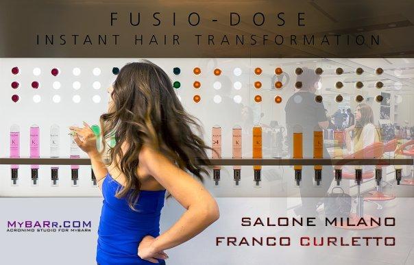 #myhairtransformation Salone Franco Curletto Milano prova di fusio dose kerastase Chiara Benvenuti-mybarr #myhairtransformation